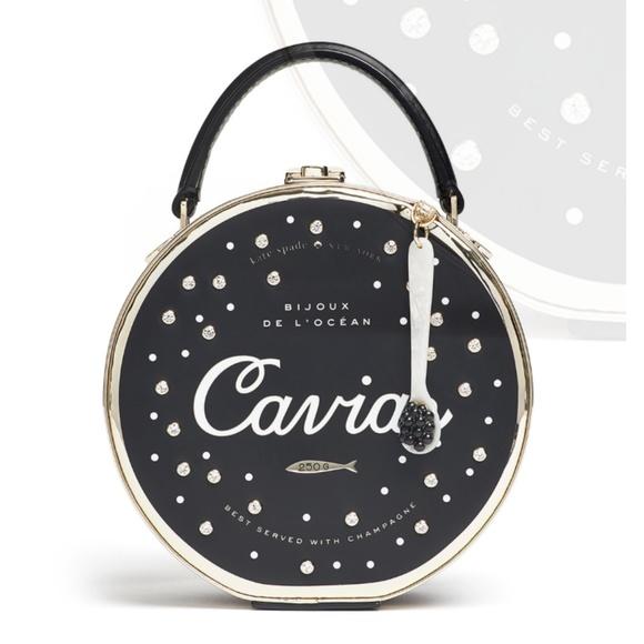 e2691c90c442 kate spade Handbags - Kate Spade New York Finer Things Caviar Bag